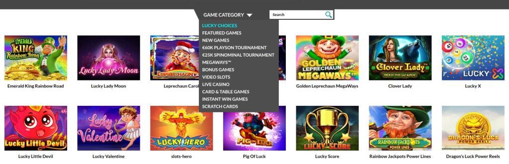 Slot e altri giochi di Casino Superlines